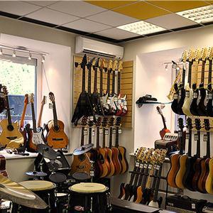 Музыкальные магазины Заводопетровского